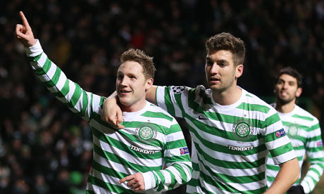 Kris Commons celebrates scoring