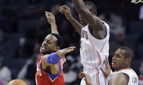 Philadelphia 76ers' Andre Iguodala vs. Charlotte Bobcats