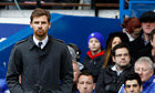 Chelsea's manager André Villas-Boas at the FA Cup fifth-round match