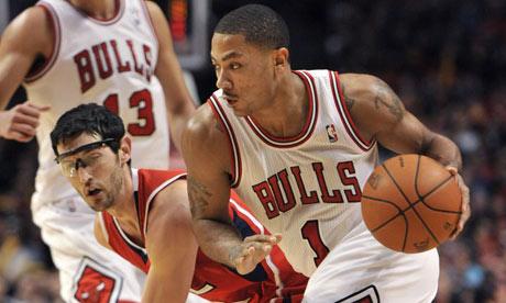 Chicago Bulls guard Derrick Rose vs. Atlanta Hawks