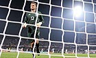 Robert Green in the aftermath of his mistake against the United States at 2010 World Cup