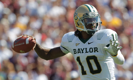 Robert Griffin III of the Baylor Bears