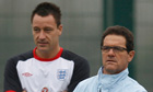 Fabio Capello and John Terry