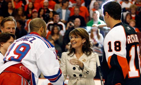 Scott Gomez and Sarah Palin