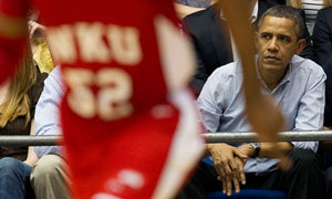 Barack Obama, March Madness