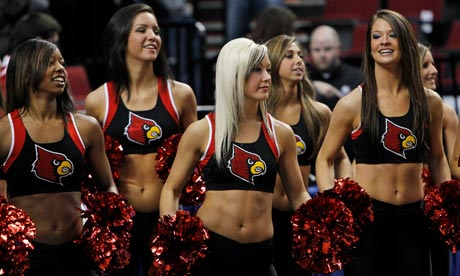 University of Louisville cheerleaders, March Madness
