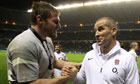 Ben Morgan and Stuart Lancaster