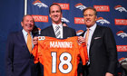 Peyton Manning joins John Elway and the Denver Broncos