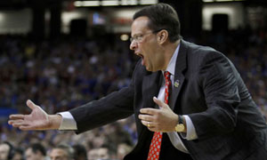 Indiana Hoosiers head coach Tom Crean vs Kentucky Wildcats