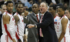 Ohio State University coach Thad Matta
