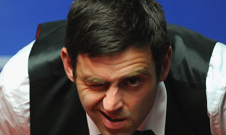 Ronnie O'Sullivan, snooker player