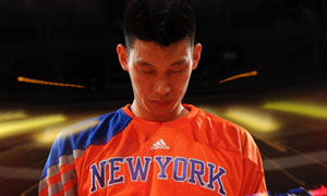 Jeremy Lin of New York Knicks vs. Boston Celtics: Star Spangled Banner