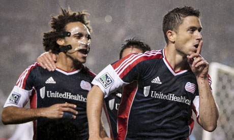 New England Revolution's Kevin Alston and Chris Tierney