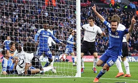 Chelsea's second goal
