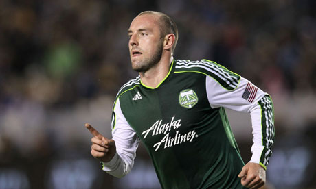 Kris Boyd of the Portland Timbers