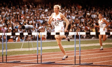 David Hemery races to gold