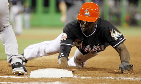 Miami Marlins shortstop Jose Reyes