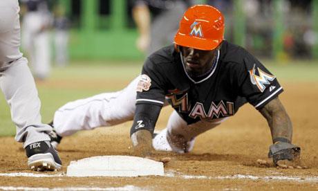 Miami Marlins shortstop Jose Reyes