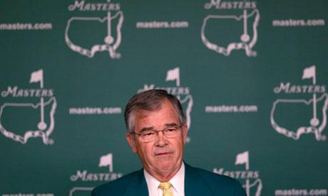 Billy Payne, chairman of Augusta National Golf Club
