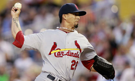 St. Louis Cardinals pitcher Kyle Lohse