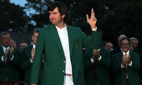Masters 2012 bubba watson s talent is rewarded with first major