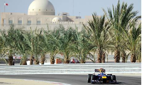 Sebastian Vettel Red Bull Bahrain