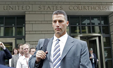 Andy Pettitte at court