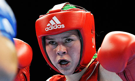 Savannah Marshall, who has qualified for the London 2012 Olympic boxing