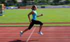 Jessica Ennis training in Götzis