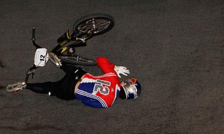 Crashes During The Bmx