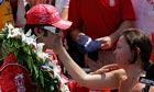 Dario Franchitti Ashley Judd Indianapolis 500