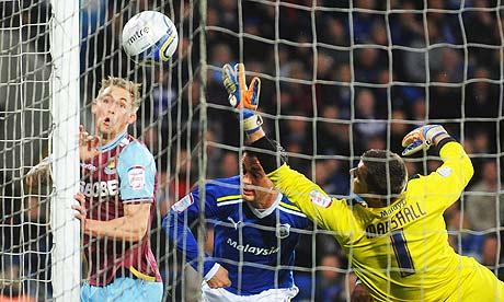 Jack Collison puts West Ham ahead in Cardiff