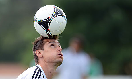 Miroslav Klose will once again lead the line