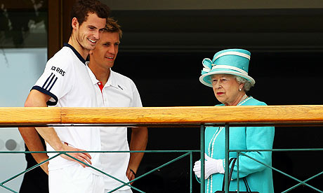 The Queen visits Wimbledon in 2010