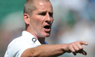 Stuart Lancaster, England head coach