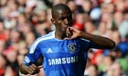 Chelsea's Ramires celebrates scoring the opening goal  in the FA Cup final