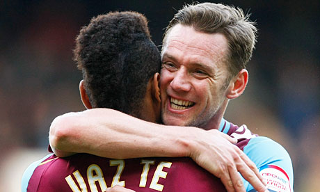 Kevin Nolan and Ricardo Vaz Te