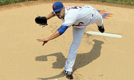 Johan Santana of the New York Mets