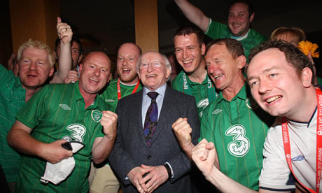 Ireland's president, Michael D Higgins