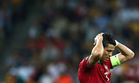 Cristiano Ronaldo believes Portugal were the better side despite the 1-0 defeat to Germany
