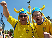 Swedish fans
