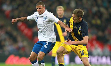 Soccer - International Friendly - England v Sweden - Wembley Stadium
