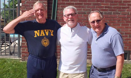 Brothers in arms: Wayne, Rick and Bob