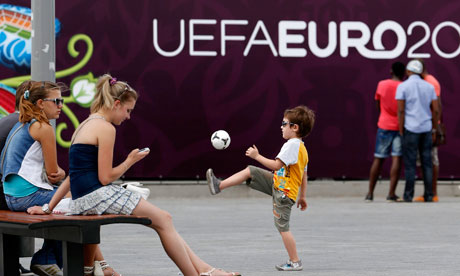 EURO 2012 sign