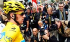 Bradley Wiggins of Team Sky at the Tour de France