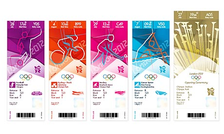 London 2012 Olympic tickets