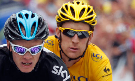 Christopher Froome and Bradley Wiggins