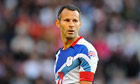 Ryan Giggs playing for Team GB