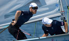 Britain's Luke Patience and Stuart Bithell training for London 2012