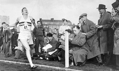Sir Roger Bannister 4 Minute Mile